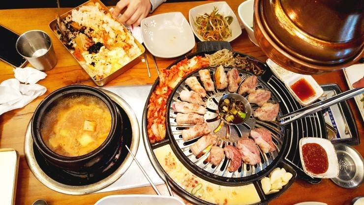 South Korea Travel Jamsil Food Samgyeopsal Meatlover Shopping Metropolis